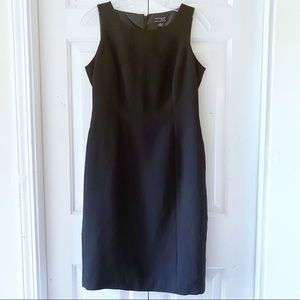 Kim Rogers Womens Black Cocktail Sheath Dress 4